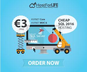 Cheap SQL Server 2016 Hosting Provider – European Windows Hosting