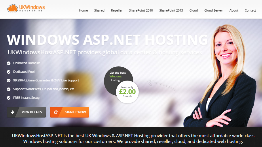 Best Windows & ASP.NET Hosting Provider in UK