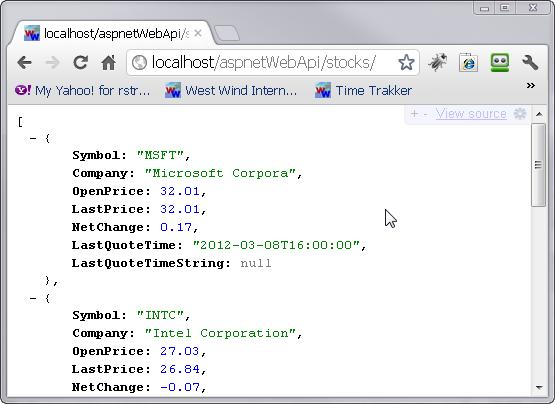 ASP.NET Tutorial :: Remove XML Formatter from ASP.NET Web API Applications